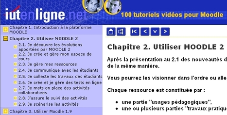 100 Video tutoriales de MOODLE 1.9 y  MOODLE 2 | E-learning, Moodle y la web 2.0 | Scoop.it
