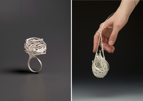 Woven Nest-Inspired Jewelry by Heather Bayless | Le It e Amo ✪ | Scoop.it