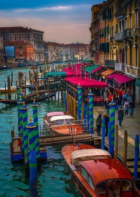 Twitter / EarthPix: Grand Canal, Venice, Italy ... | Italian news culture and lifestyle | Scoop.it