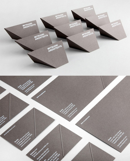 20 Creative Business Cards for Architects | CLOVER ENTERPRISES ''THE ENTERTAINMENT OF CHOICE'' | Scoop.it