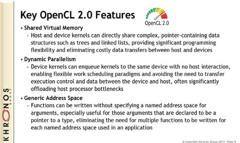 Tutorial on the OpenCL 2.0 Generic Address Space - TechEnablement | opencl, opengl, webcl, webgl | Scoop.it