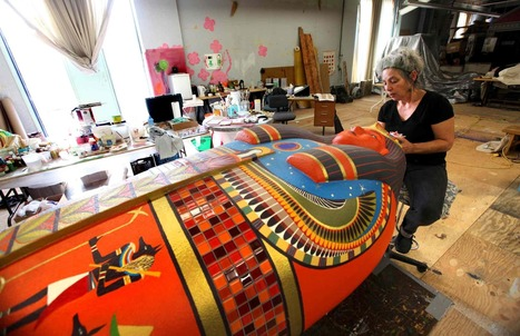 Sarcophagus to rise over courtyard - Winnipeg Free Press | Ancient Egyptian World | Scoop.it