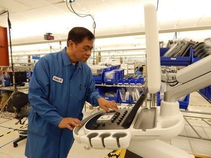 HeraldNet.com - Device a breakthrough for ultrasound, says Bothell maker | Becoming an Ultrasound Technician | Scoop.it