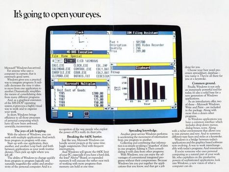 That 1984 New York Times Article About Windows Was Completely Right | cross pond high tech | Scoop.it