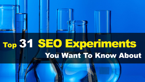 Top 31 SEO Experiment​s You Want To Know About - Search Engine Journal | eCommerce:SEO | Scoop.it