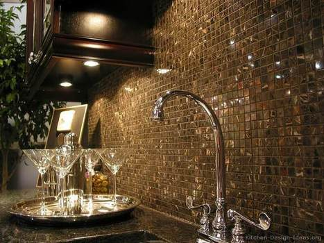 Kitchen Backsplash Ideas - Materials, Designs, and Pictures | Kitchens | Scoop.it