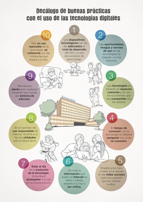 Las nuevas tecnologías en niños y adolescentes. Guía para educar saludablemente en una sociedad digital | Aprendiendo a Distancia | Scoop.it