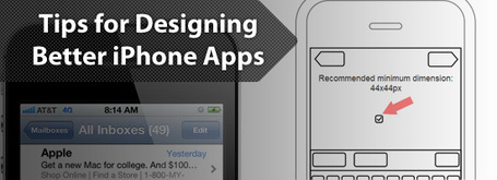 5 Simple Tips for Designing Better iPhone Apps | timms brand design | Scoop.it