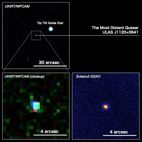Press Release - Laser Guide Star Adaptive Optics Sharpens Subaru Telescope's Eyesight and Opens a New Vision of the Distant Universe - Subaru Telescope | Planets, Stars, rockets and Space | Scoop.it
