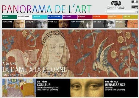 IL Y A 4 ANS ... La RMN-GP inaugure sa nouvelle plateforme en ligne : Panorama de l'art | Clic France | Scoop.it