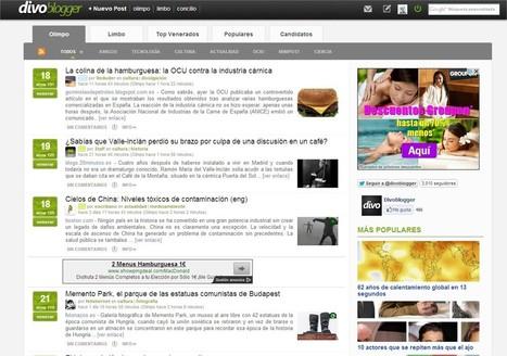 Divoblogger, la alternativa a Menéame. - Zona Seo | SEO, Social Media, SEM | Scoop.it