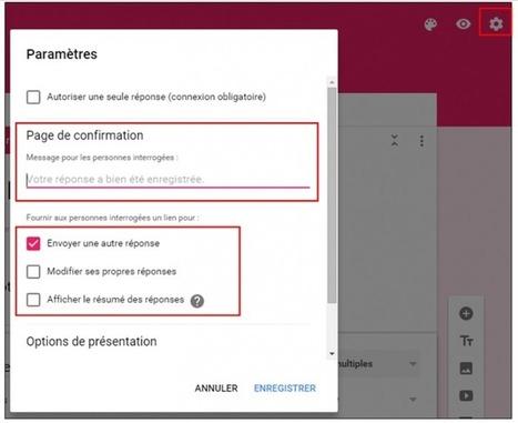 Tutoriel : Créer un formulaire avec la nouvelle interface Google Forms | TIC et TICE mais... en français | Scoop.it