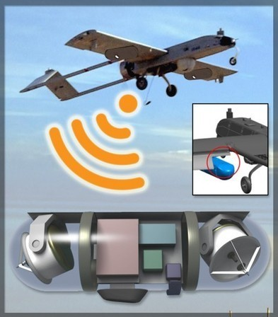 DARPA Wi-Fi drones: Just what Facebook needs | Gizmag | Cultibotics | Scoop.it