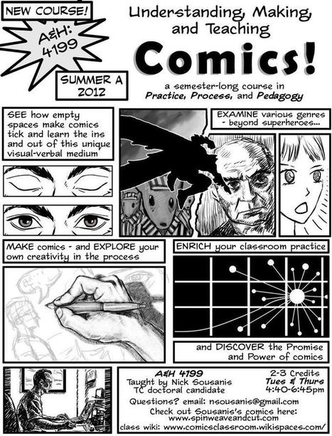 comicsclassroom | Pop Culture in Education | Scoop.it