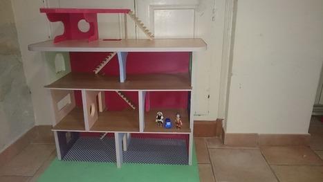 [Coup de ♥] Maison miniature pour Playmobil par Chris1966 sur le #CDB | Best of coin des bricoleurs | Scoop.it
