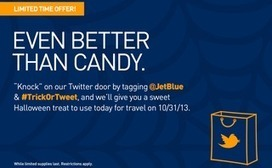 @JetBlue Tricks and Treats Followers With Mystery Halloween Discounts | Principles Of Marketing 201E | Scoop.it