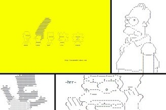 Before Emoji, There was 'The Simpsons' ASCII Art | ASCII Art | Scoop.it