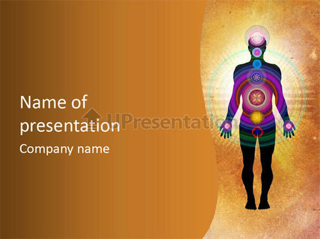 Body Chakras - healing energy PowerPoint Template ID 0000061670 - UPresentation.com | Energy & Spirit | Scoop.it