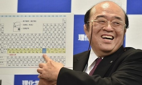 Periodic table's seventh row finally filled as four new elements are added   Physics   Scoop.it