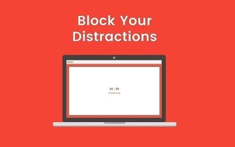 Focus, un outil pour bloquer certains sites web pendant vos séances de travail - Blog du Modérateur | Geeks | Scoop.it