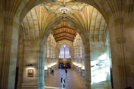 A Piece of Yale's Library Is Brought Back to Life | Library design | Scoop.it