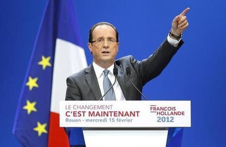 Présidentielle: François Hollande a trouvé Nicolas Sarkozy «violent» et «agressif» | ECONOMIE- | Scoop.it