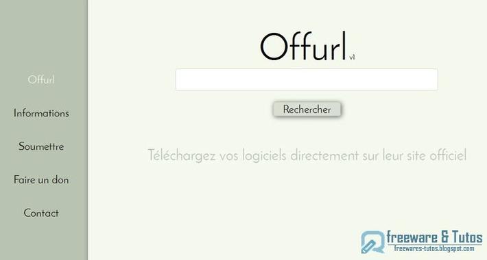 Offurl : pour trouver les sites officiels de téléchargement des logiciels | TIC et TICE mais... en français | Scoop.it