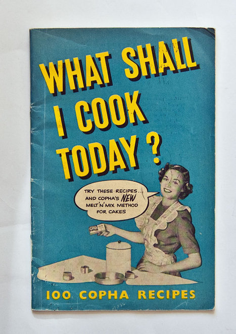 Items similar to Vintage Cookbook, Cooking with Copha, Pure Saturated Fat 1950s on Etsy | Culinary arts | Scoop.it