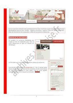 Tutoriel Pour Les Recherches Généalogiques | Recherches généalogiques | Scoop.it