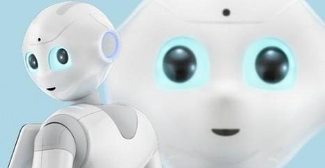 10 000 pré-commandes en 4 jours pour le robot franco-japonais Pepper. Les vrais débuts du robot domestique ? | netnavig | Scoop.it
