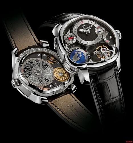 Greubel Forsey GMT Platine - Luxury Design   Luxury Design & Life Style   Scoop.it