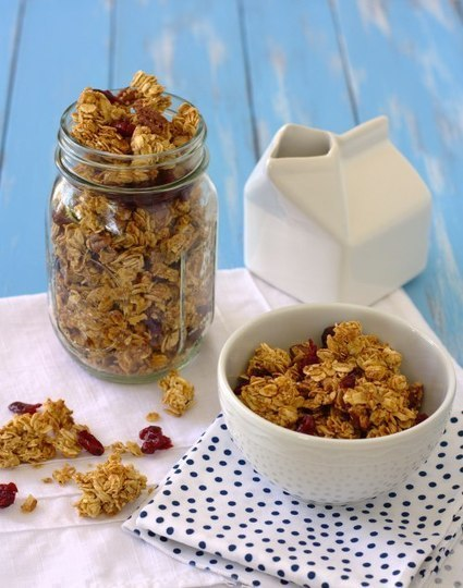 #HEALTHYRECIPE - Pumpkin Spice Granola | Strong is the New Skinny! | Scoop.it