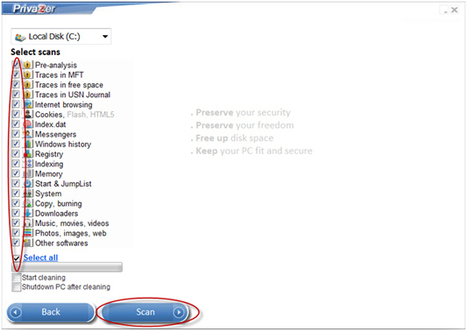 PrivaZer, free PC cleaner & Privacy tool for Security and Freedom | ICT Security Tools | Scoop.it
