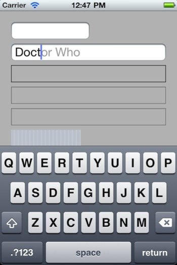 DOAutocompleteTextField for iOS - Cocoa Controls | iPhone and iPad development | Scoop.it