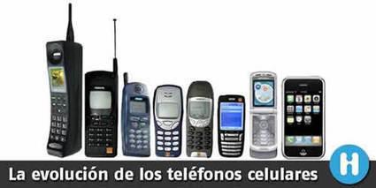 La evolución de los teléfonos celulares | tecno4 | Scoop.it