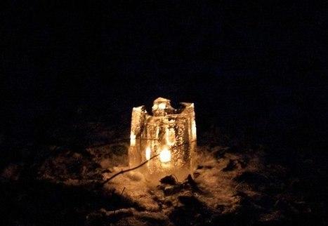 Ice Candles for the Darkest Season   Arduino Focus   Scoop.it
