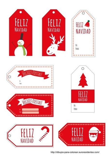 Download Dibujos Para Colorear Etiquetas Navidad Imprimir Wallpaper