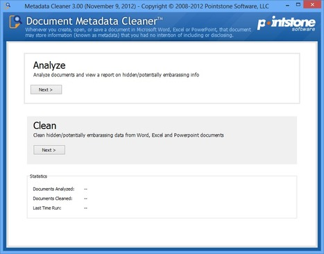 Document Metadata Cleaner | Best Freeware Software | Scoop.it