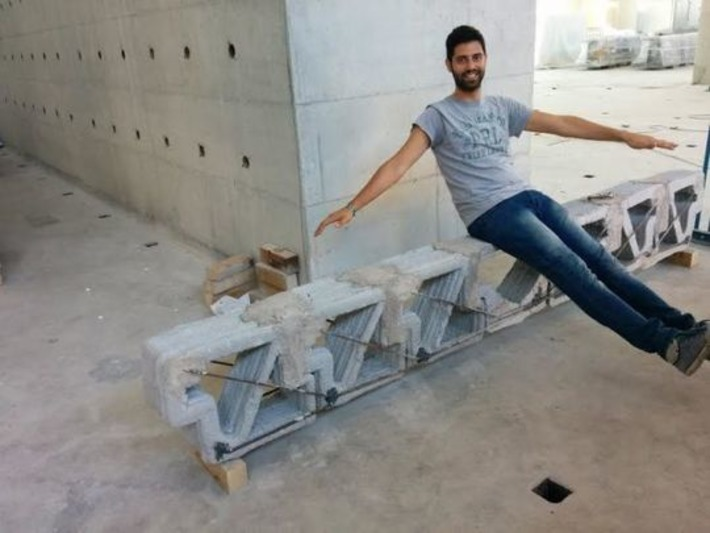 This Bizarre Concrete Beam Is the Smartest Use of 3D Printing In Architecture Yet - Gizmodo | Machinimania | Scoop.it