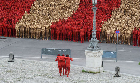 Spencer Tunick | Art Installations, Sculpture, Contemporary Art | Scoop.it