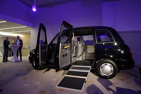 Taxi accessible: le modèle londonien bientôt en France | Médias sociaux et tourisme | Scoop.it