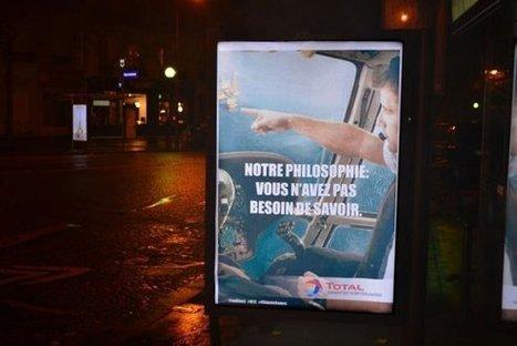 COP21: à Paris, de fausses pubs moquent les vrais sponsors | Chronique d'un pays où il ne se passe rien... ou presque ! | Scoop.it