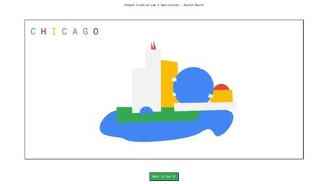 Creative Lab 5 : réinventez la page d'accueil Google pour être recruté - Blog du Modérateur | ADN Web Marketing | Scoop.it