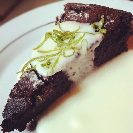 Nigella Lawson et son gâteau au chocolat-crème margarita. Olé. - L'Express | Chocolat et gourmandise | Scoop.it