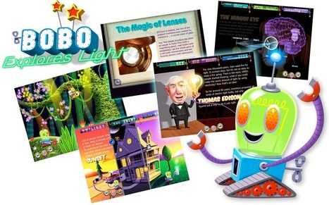 Bobo Explores Light | Game Collage, LLC | 21st Century Homeschooling Apps | Scoop.it