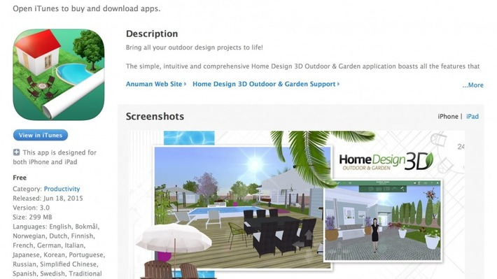 Outdoor and garden home design in 3D | Garden apps for mobile devices | Scoop.it
