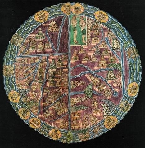 Uma série de mapas do século XI ao século XIV que são autênticas obras de arte | Bolso Digital | Scoop.it