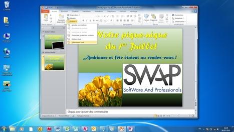 Powerpoint 2010 - Organisez votre présentation en sections | Gagner une heure par jour | Scoop.it