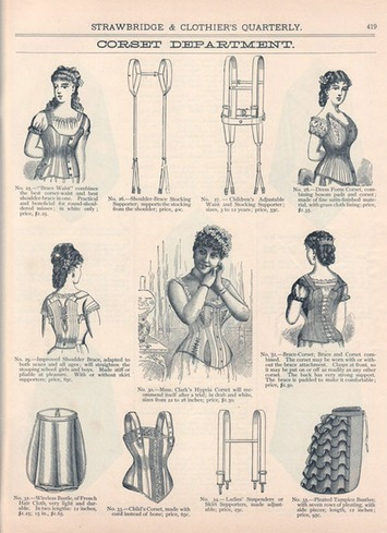 Corsets Bound To Stay Suffrage | Sex History | Scoop.it
