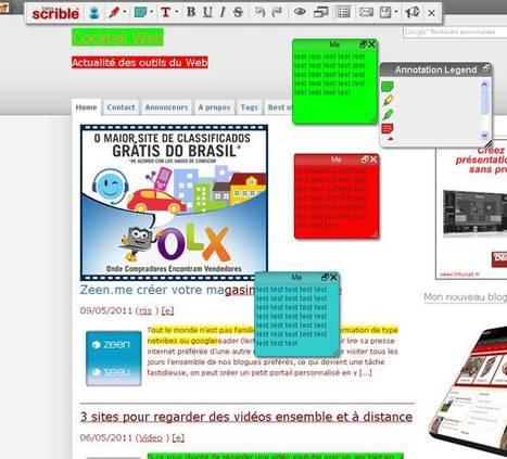 7 services pour surligner une page web | Technologie Au Quotidien | Scoop.it
